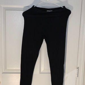 black forever 21 leggings